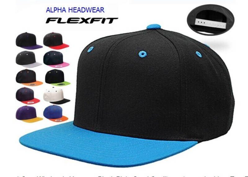 3c6d81a576752 China Blank Plain Custom Embroidery Two Tone Basketball Snapback Cap ...