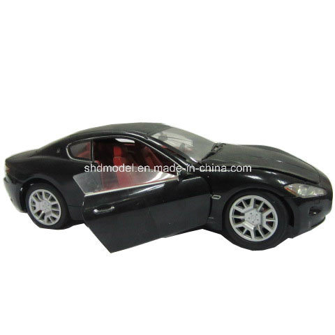 Die Cast Black Car Model for Collectible (1/36)
