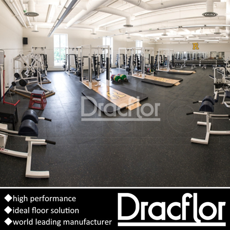High Performance PVC Gym Flooring for Fitness Club
