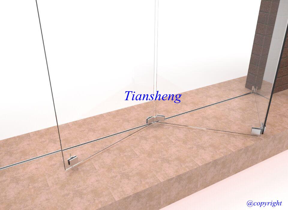 China Frameless Glass Folding Doors Frameless Interior Doors Glass