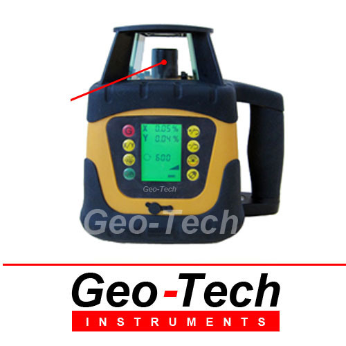 Dual Grade Red Beam Rotary Laser Level (Grl600r)