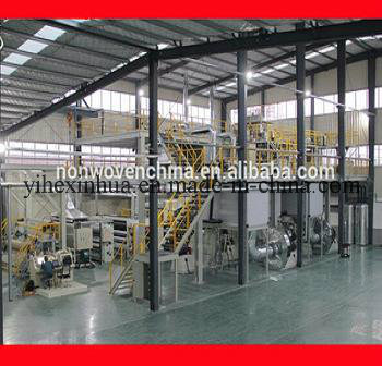 SMMS Non Woven Fabric Making Production Line 3200mm