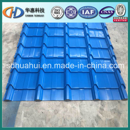 Color Galvanized Corrugated Roofing Sheet Made of Shandong