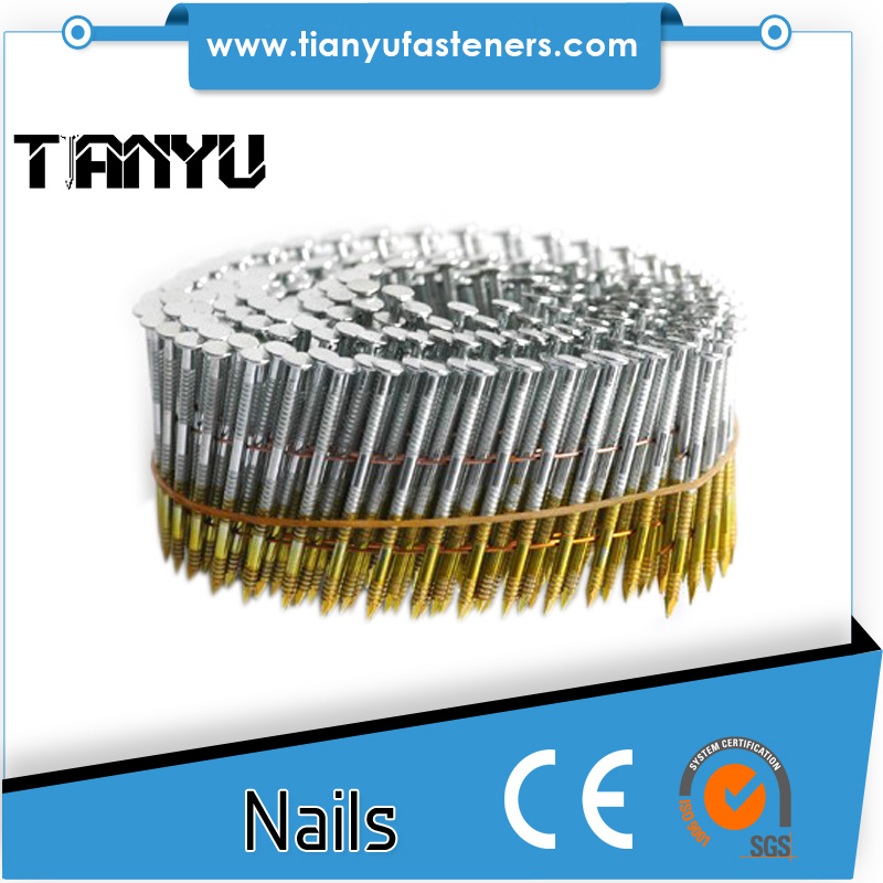 15 Degree Wire Coil Nails pictures & photos