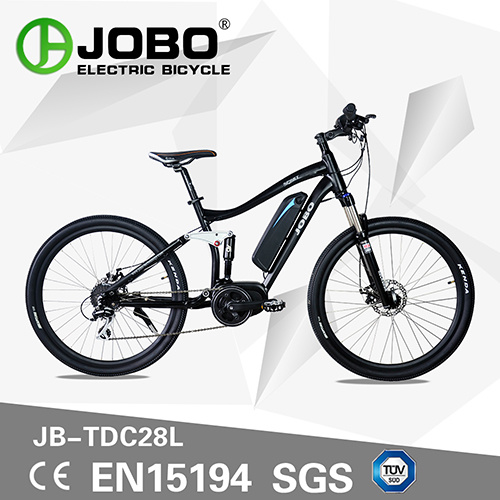 92e085983f7 Electric Mountain Bicycle with Carnk Bafang Motor Moped with Pedals Pedelec  (JB-TDC28L)