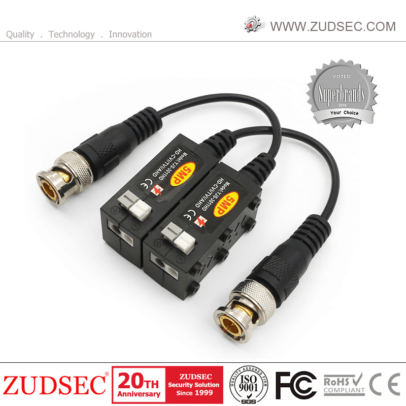 20 Coax CAT5 To Camera CCTV BNC Video Balun Connector