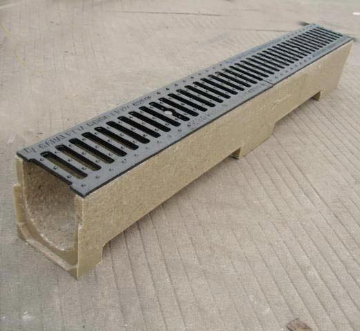 China Polymer Concrete Drainage Channel Yard Gully En1433