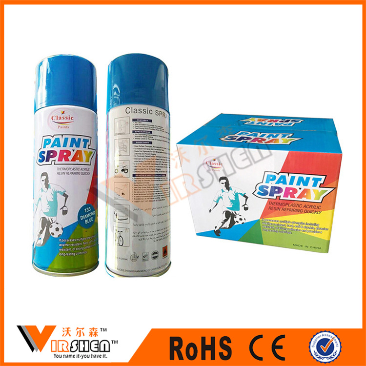 China Colorful Mirror Chrome Paint Diamond Paintting Auto Coating Spray Aerosol Acrylic