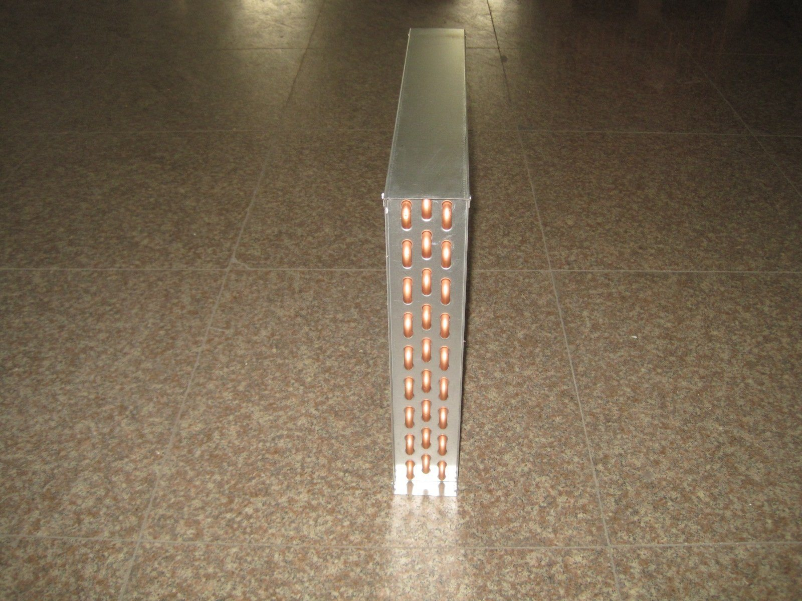 China Copper Water To Air Heat Exchanger For Outdoor Wood Furnace