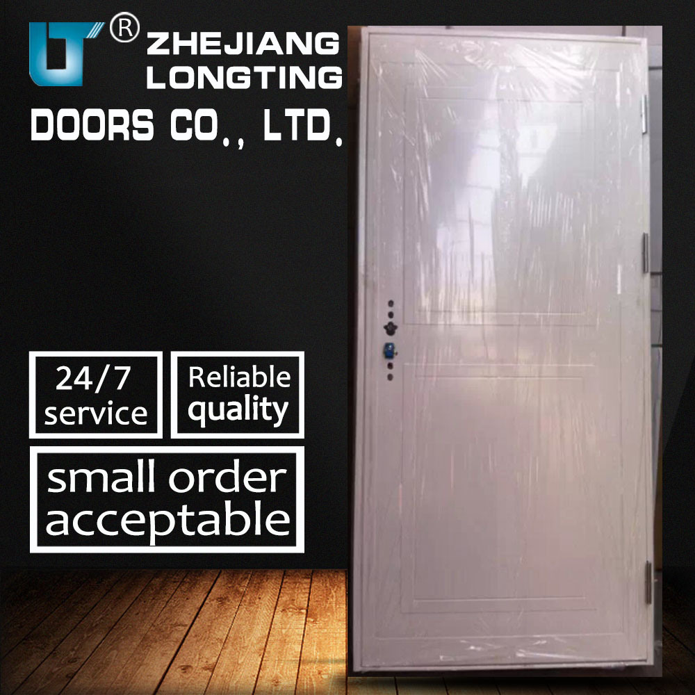 China High Quality Entry Single Leaf Steel Security Doors