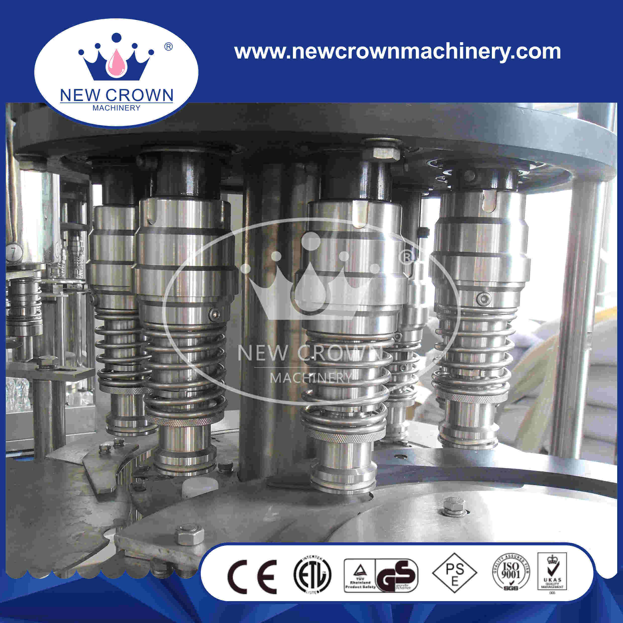 5 in 1 Monoblock Pulp Juice Filling Machine for Pet Bottle pictures & photos