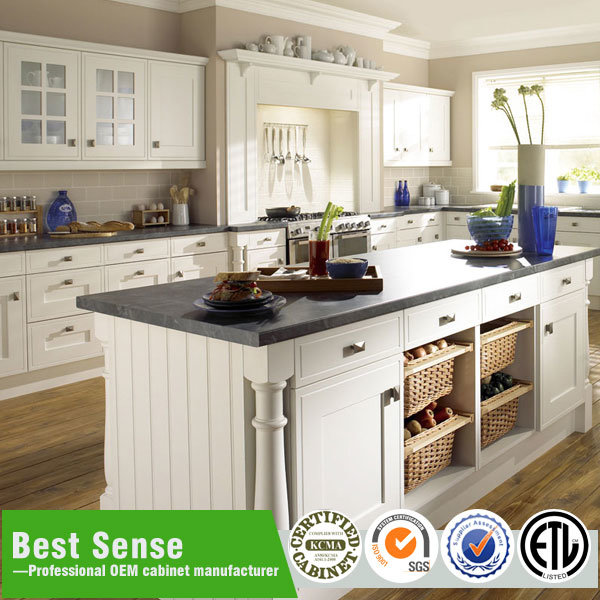 [Hot Item] Honey Maple Horizontal Kitchen Cabinets