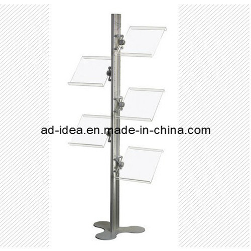 China Magazine Holder Floor Standing Portable Literature Display Simple Portable Literature Display Stands
