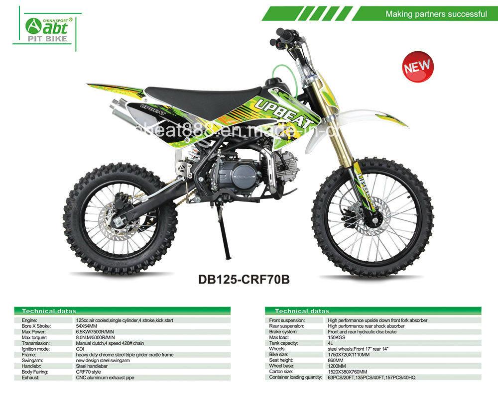 Chinese Cheap Pit Bike 4 Stroke Dirt Bike 125cc - China Cheap Pit ...