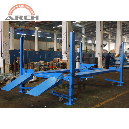 Ce Auto Hydraulic Four Post Car Hoist Parking Lift