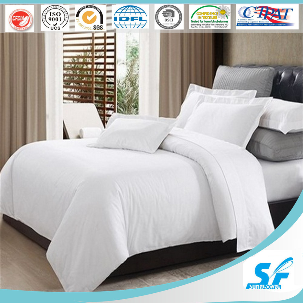 Cotton Wholesale Hotel Bedding Set Duvet Cover Sheet Set