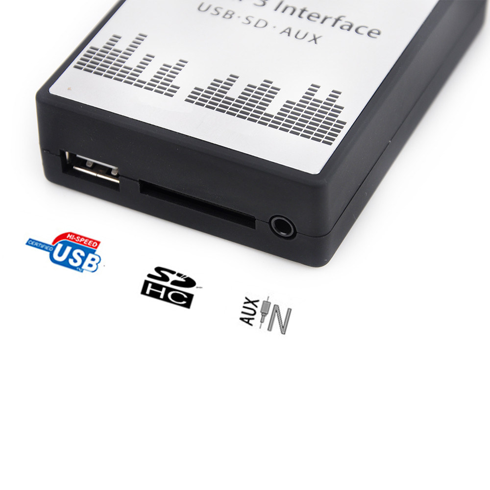 [Hot Item] USB SD Aux MP3-Radio for Peugeot Adapter Citroen (RD4)