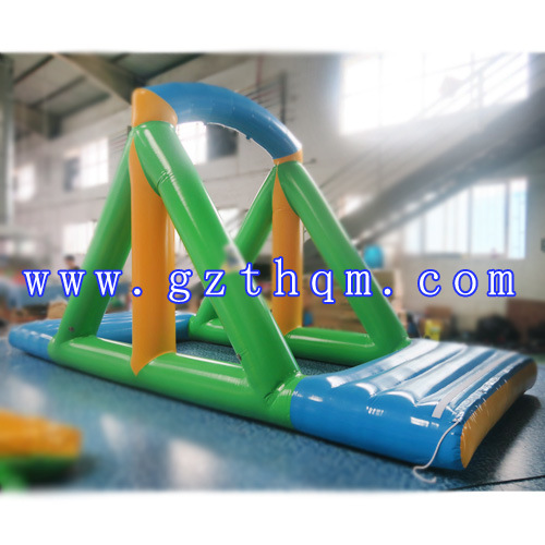 China Summer Fun Tool Inflatable Water Slide And Poolinflatable
