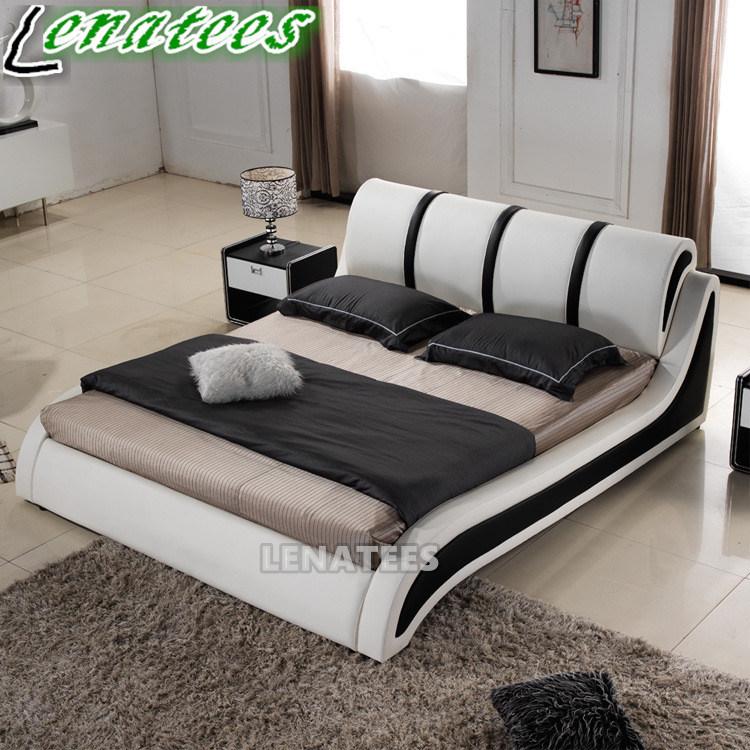 Hot Item A554 Fancy Europe Bedroom Design Modern Bed