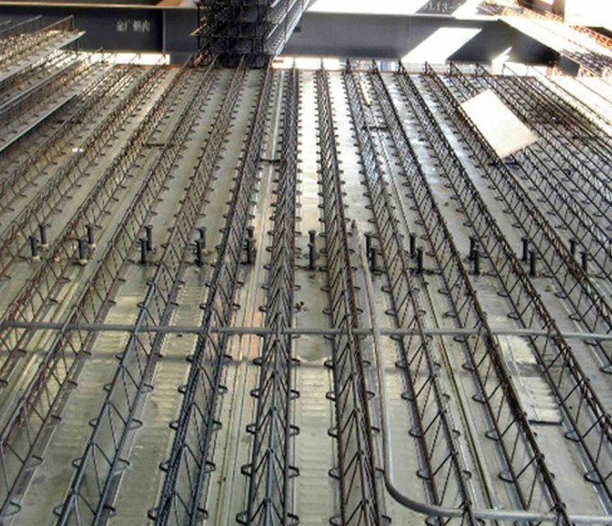 China Composite Reinforcement Floor Decking Sheet For