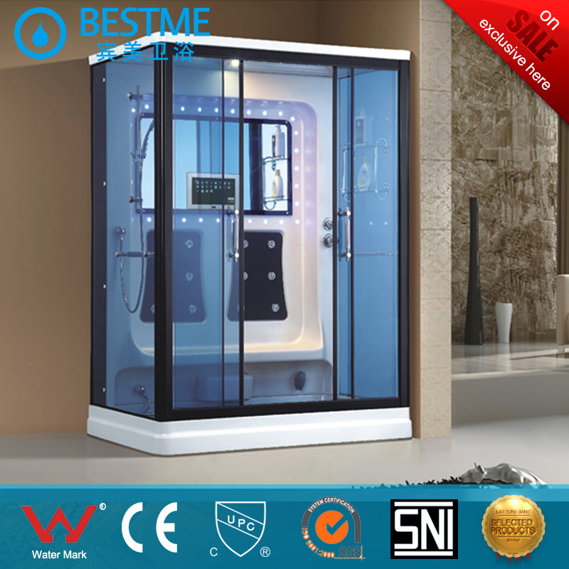 China 2 Person Enclosed Massage Whirlpool Steam Shower Room, Steam ...