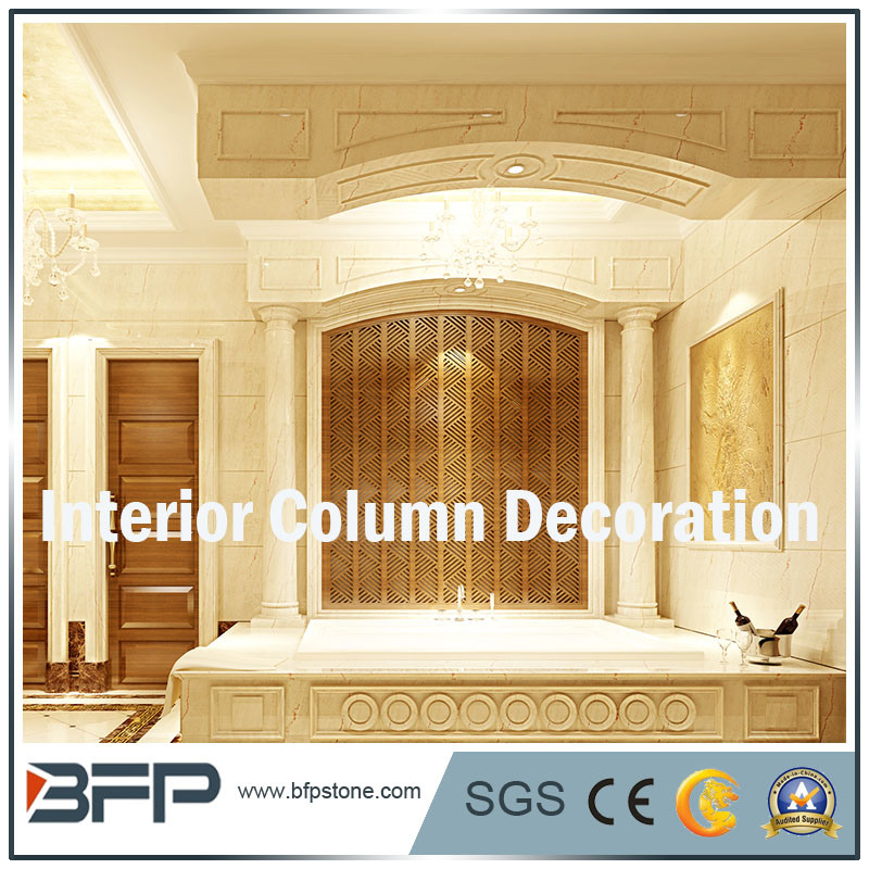 China High Level Natural Stone Columns/ Pillars/ Square Pilaster ...