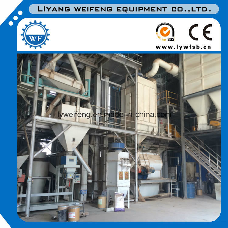 Auto 5t/H Complete Poultry Feed Production Line with Factory Price pictures & photos