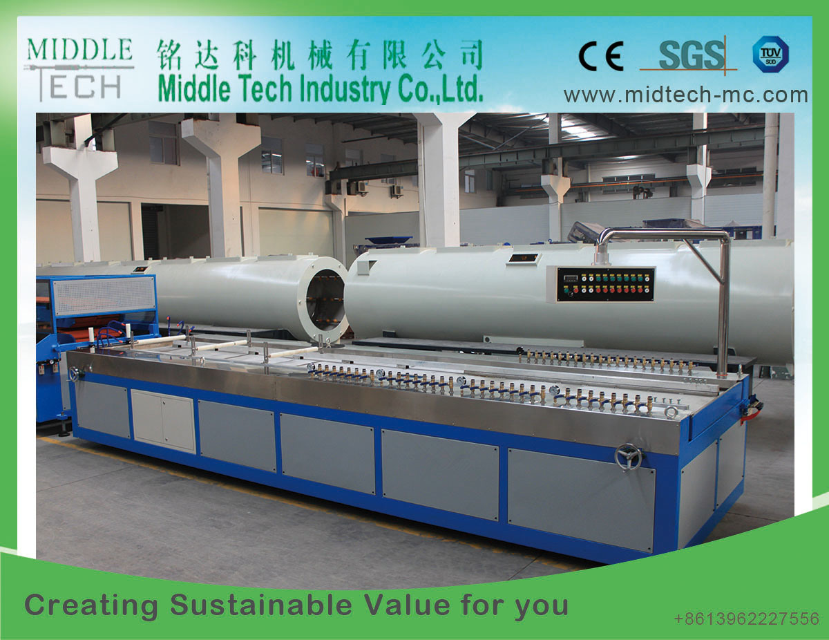 China Plastic Pvc Electrical Cable Conduit Trunking Profile Extruder Pipe Through Which Wires Are Run This Extrusion Making Machine