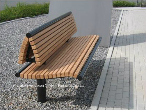 Modern Design Wooden Park Bench