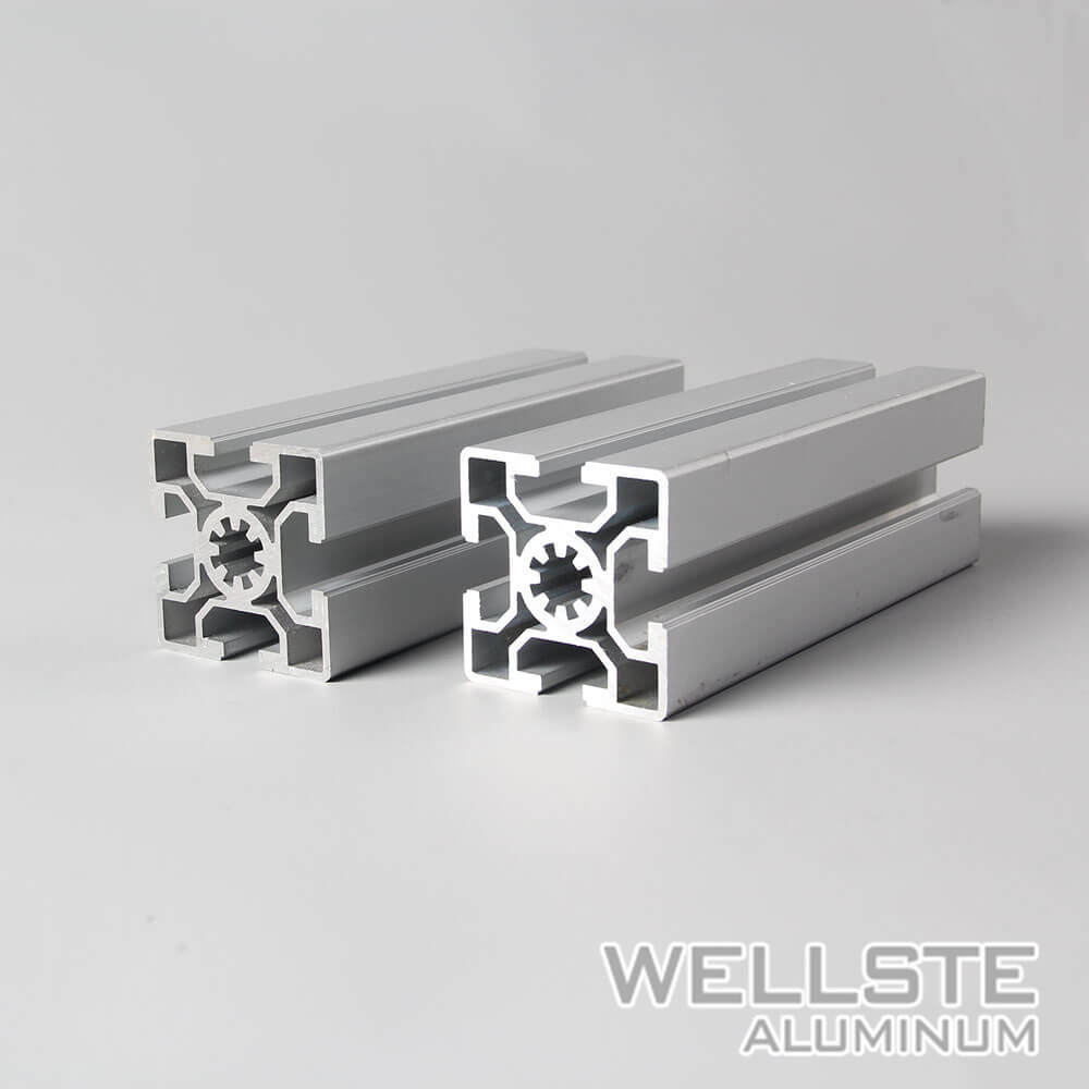 [Hot Item] 6063 Extruded Aluminum Framing 4040 T Slot for Workstations