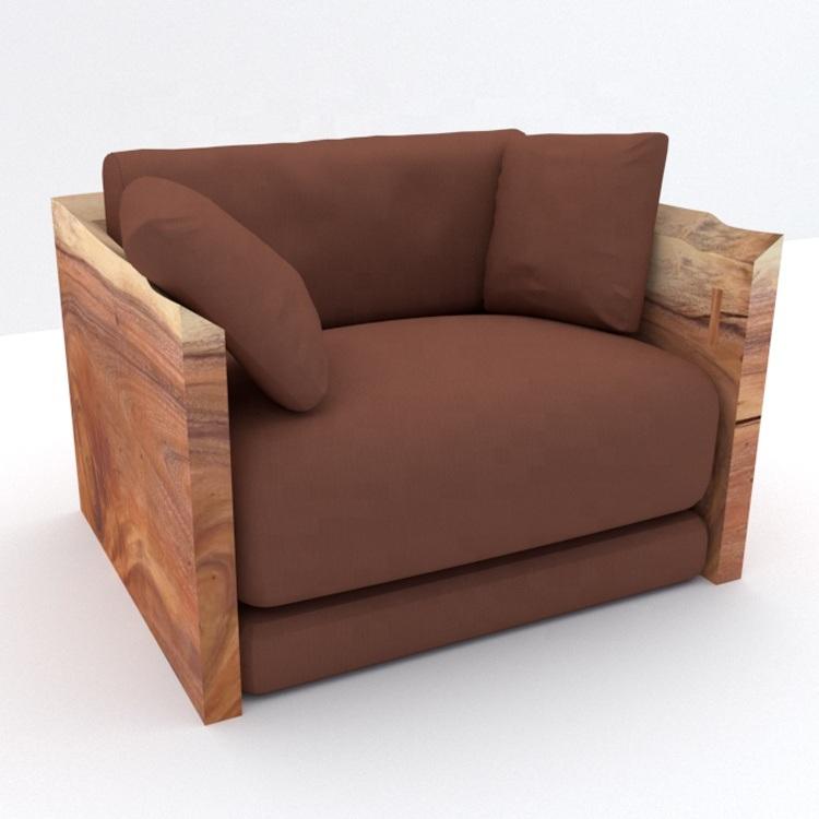 Wood Sofa Set Models Vintage