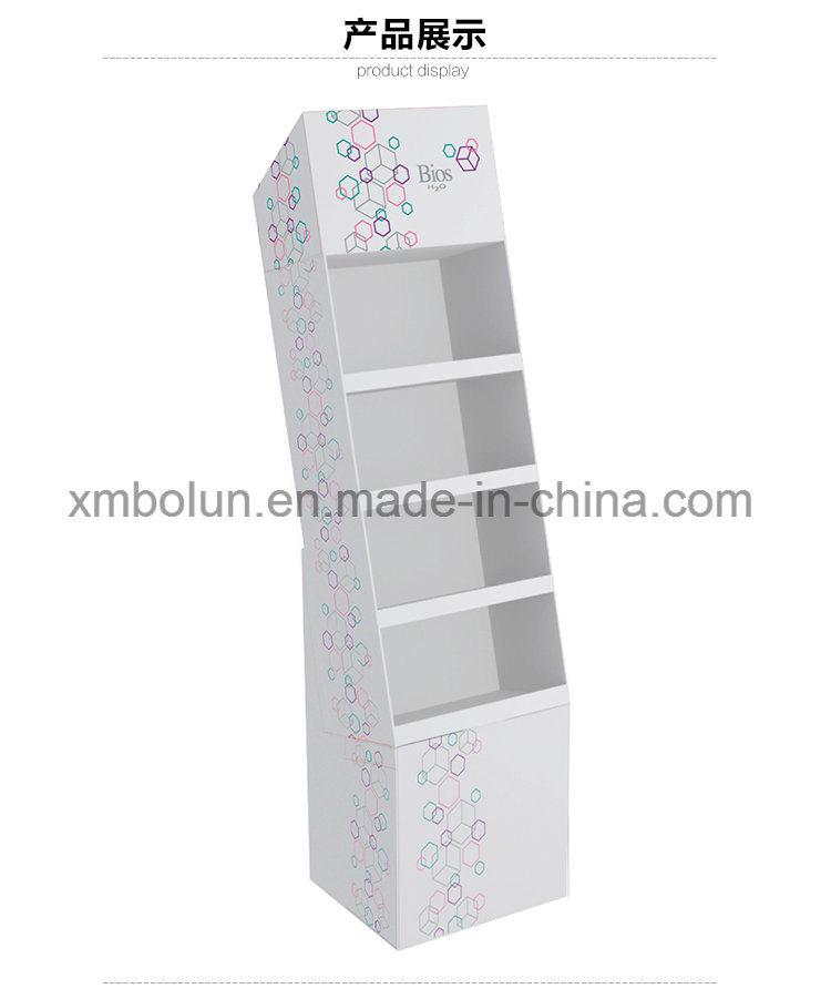 Customized Book Stands Template Pop Up Cardboard Display Rack