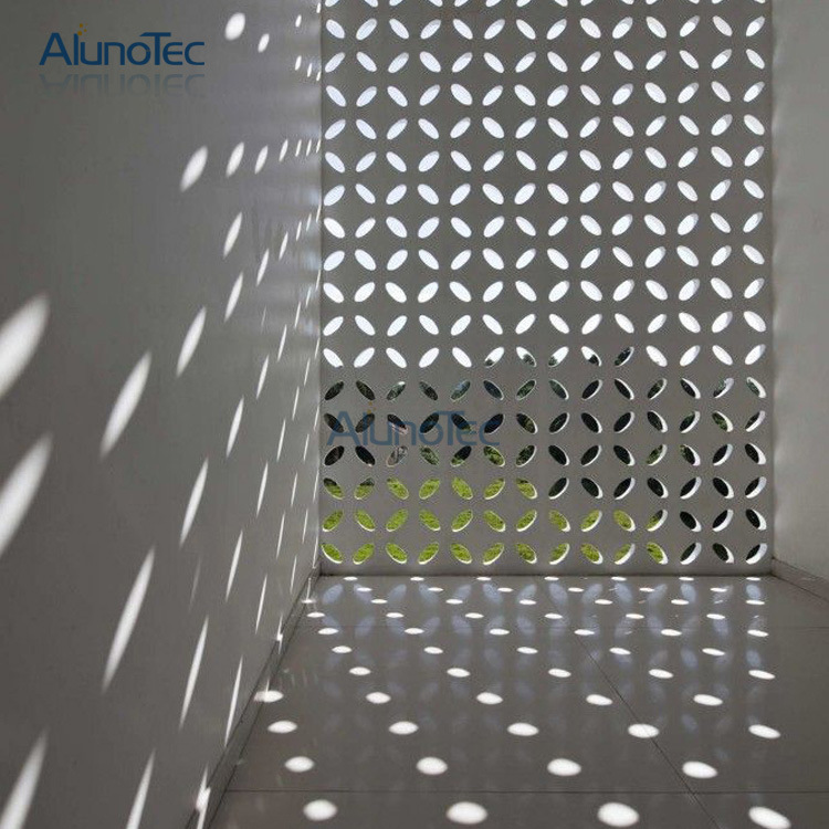 Outdoor Decorative Building Wall Panels Laser Cut Screen