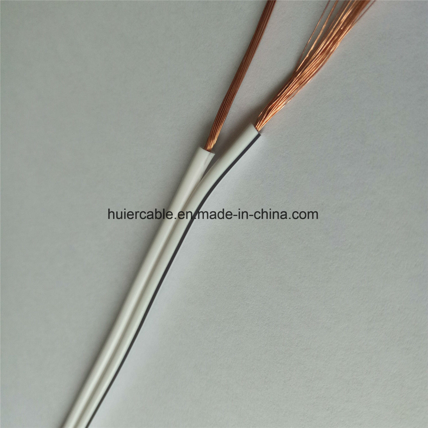 China 12AWG Parallel Speaker Wires with Colorful Stripe (2 Cores ...
