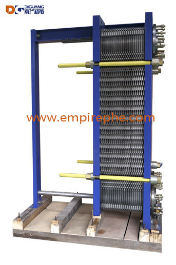China Grain Based Ethanol Production Free Flow Plate and Frame Heat ...