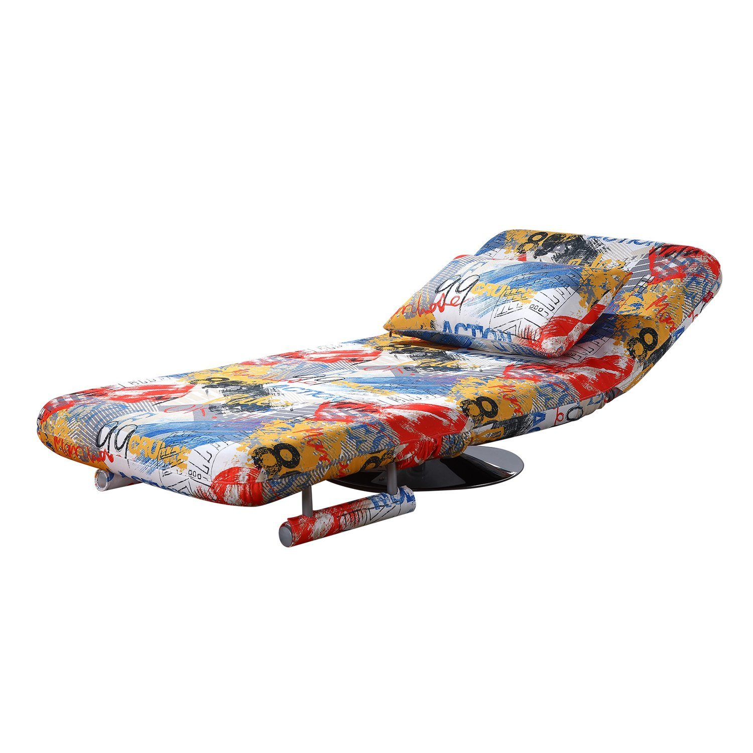 China Leisure Swivel Sofa Chair with Sofa Bed Function China