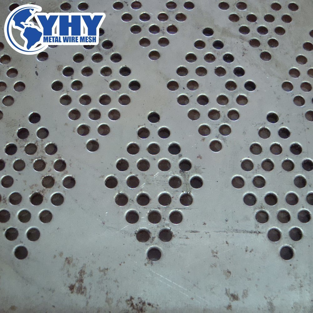 China Perforated Metal Mesh Sheets Road Construction Photos ...
