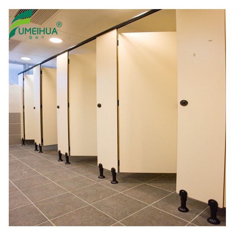 China High Pressure Laminate Waterproof Wood Bathroom Partitions - Laminate bathroom partitions