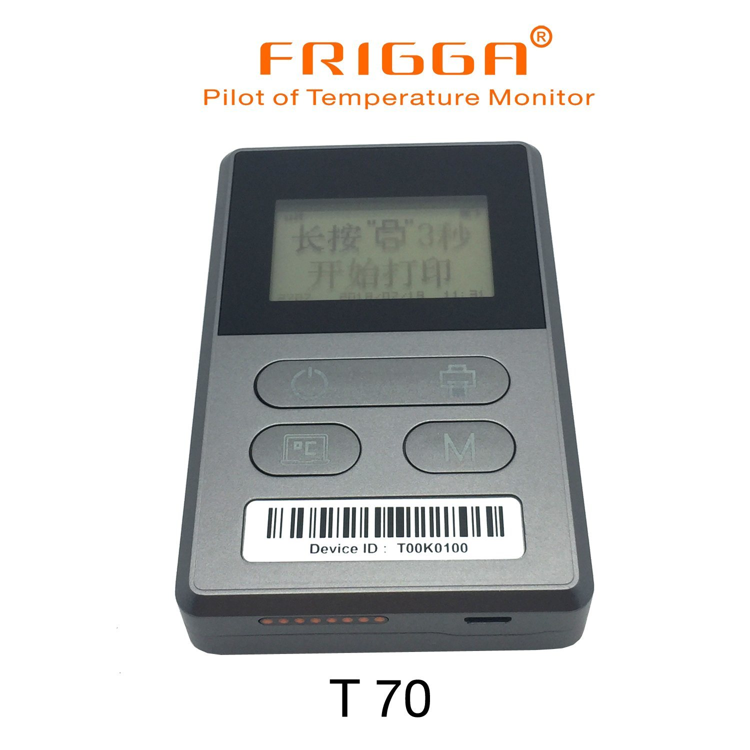China Frigga Humidity And Temperature Datalogger T70 Pic Logger Recorder Usb Data