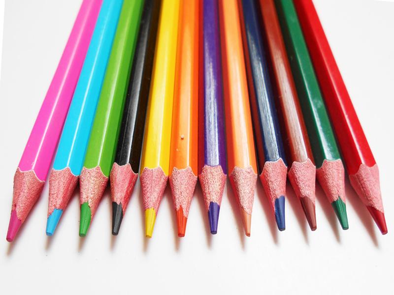 Color Pencil Set Custom Logo Printing