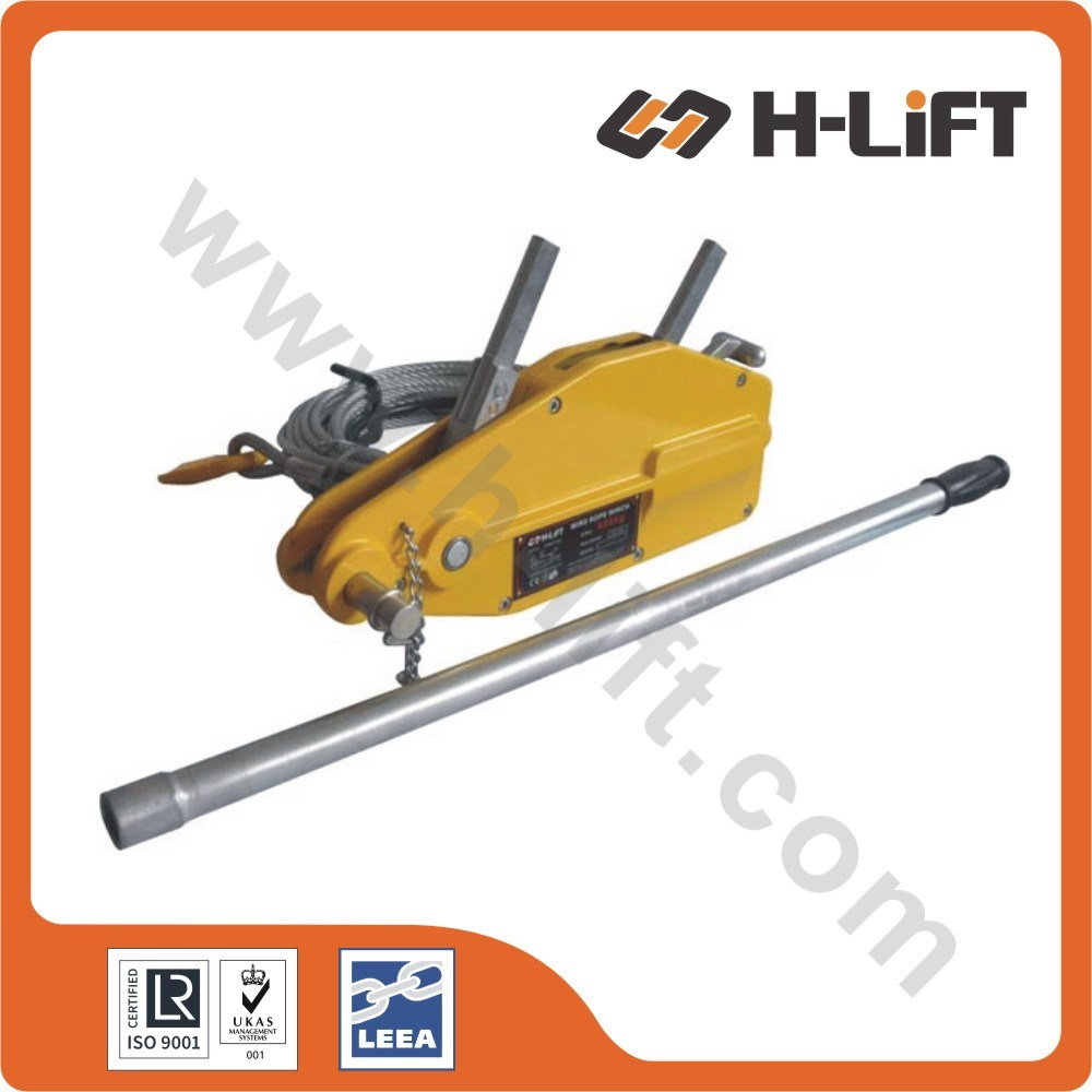 China Wire Rope Pulling Hoist/Wire Rope Winch/Tirfor Winch - China ...
