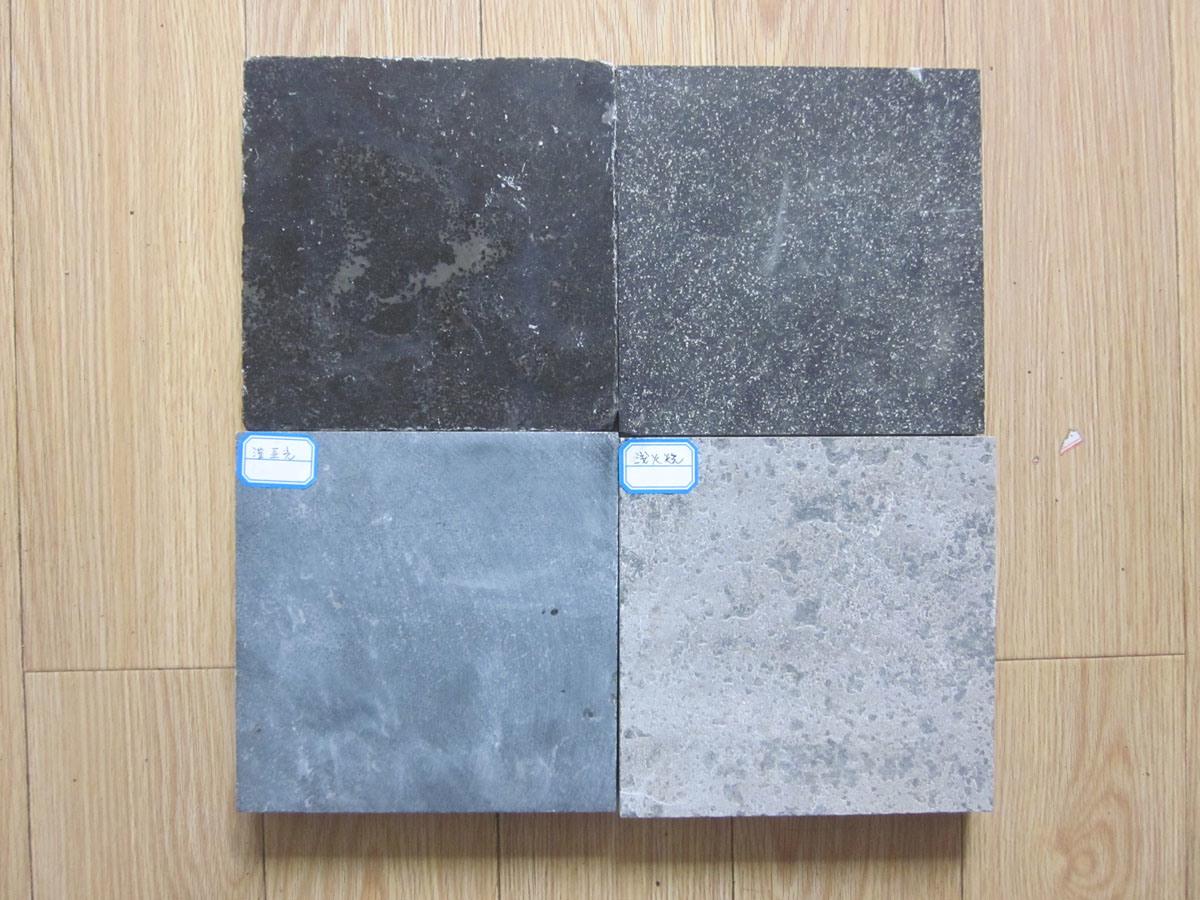 China Tumbled/Honed/Flamed/Sandblast Blue Limestone Tile for Floor ...