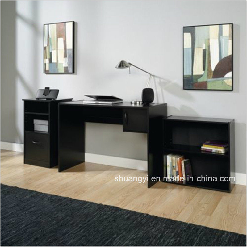 Home Office Student Desk 3-Piece Office Set Computer Furniture pictures & photos