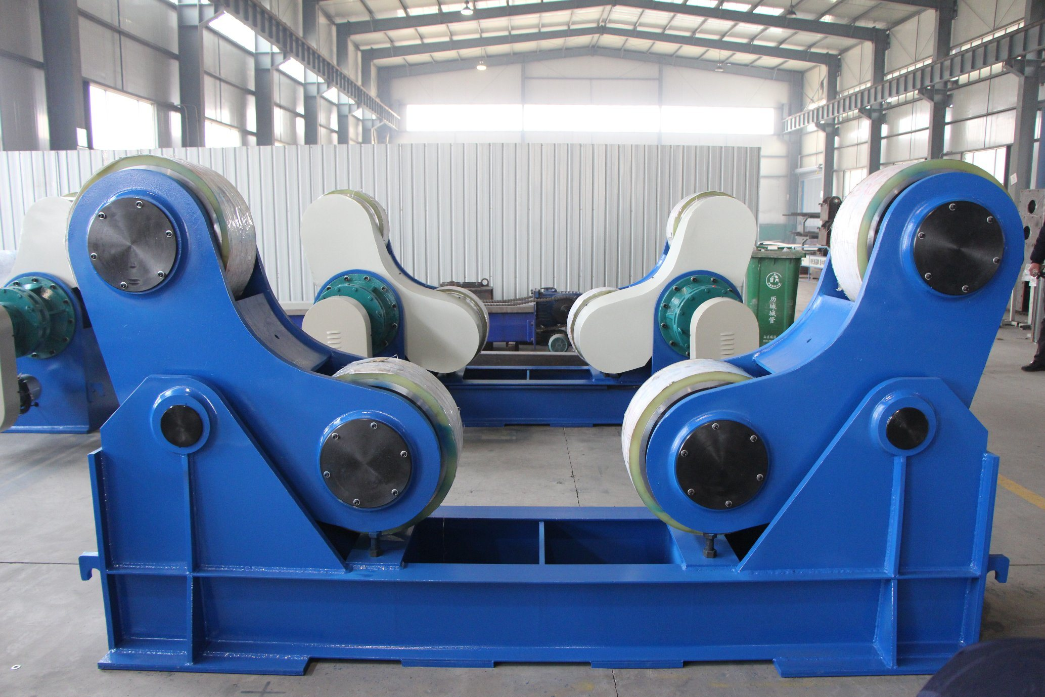 Jinan Huafei Welding Turning Rolls for Turning Pipe and Tube pictures & photos