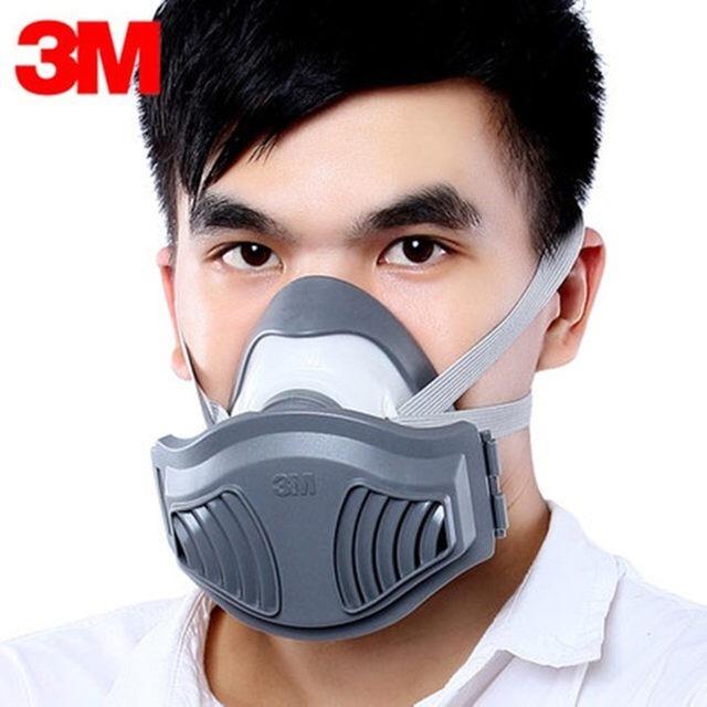 3m reusable half face mask