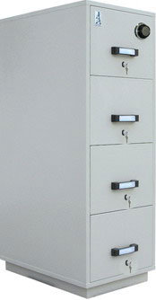High Quality Office Furniture Of Combination Lock Filing Cabinet For Fireproof Safe