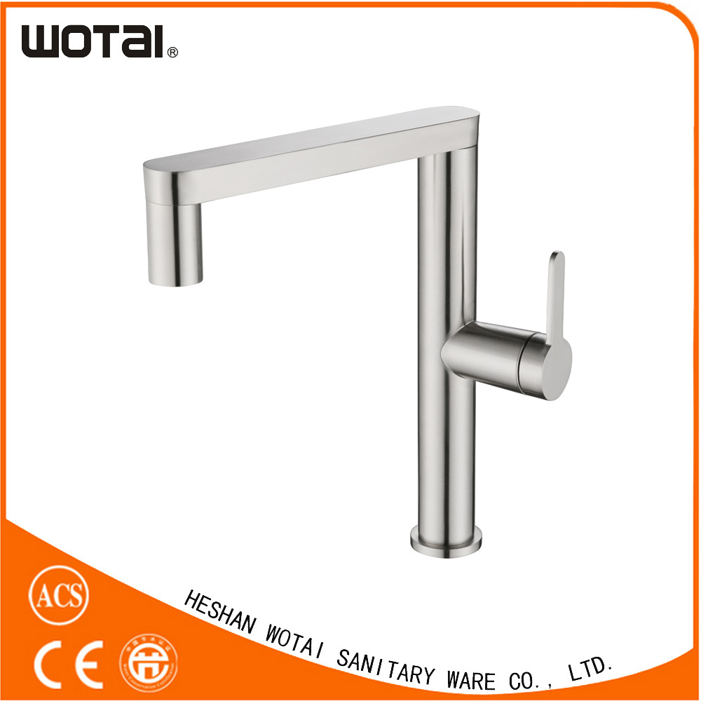EU Modern Single Lever Swivel Kitchen Tap pictures & photos
