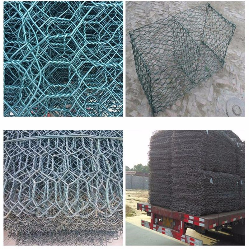China 8G/M2 to 300G/M2 Galvanzied or PVC Coated Hexagonal Wire Mesh ...