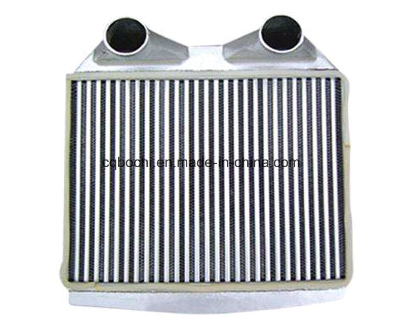 China Central Heating System Crossflow Plate Fin Heat Exchanger ...