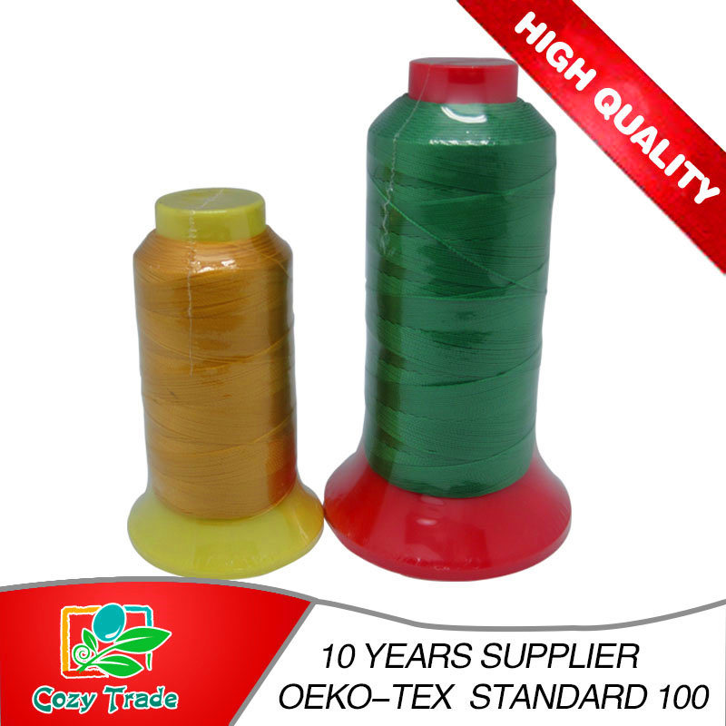 High Quality Bonded Nylon66tex50 Tex70 210d/2 210d/3 Sewing Thread 500y-5000y/Kingspool for Bags, Shoe, Leather etc